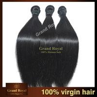 brazilian virgin hair straight, Virgin Hair Weaves,5A virgin human hair extension,rosa hair products
