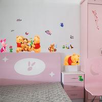 cartoon children's room nursery wall stickers Winnie the Pooh Tigger decorative stickers TC989 32 * 60