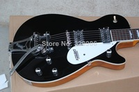 black gretsch solid body 1959 Bigsby Bridge chrome hardware electric guitar Musical Instruments Drop shipping