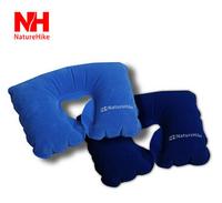 NatureHike-NH neck pillow flock printing inflatable travel air pillow outdoor sports