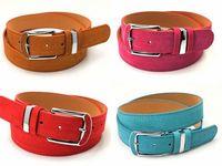 women Leather belt 2014 Genuine leather strap pigskin belt piece set metal women's belt thin belt women's brands Free shipping