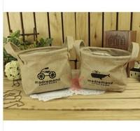 free  shipping Cotton bucket laundry basket Glove barrel  Multifunctional Storage barrels Debris Storage basket