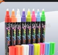 Band 100% new Highlighter Fluorescent Liquid Chalk Marker Pen for LED Writing Board