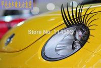 3D Automotive eyelashes car eye lashes auto 3D Eyelash 3D car logo sticker