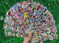 Cartoon stickers children educational puzzle paste animation foam stick establish considerate classic toys L012