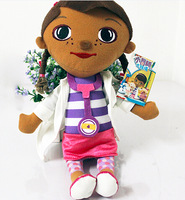 New Coming Doc McStuffins Doctor Girls 12inch Size Plush Toys Stuffed Dolls Brinquedos