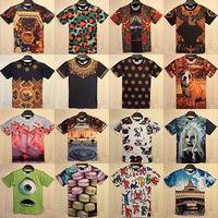 men/women new print Funny 3D T shirt short sleeve space Galaxy t shirt top Freeshipping