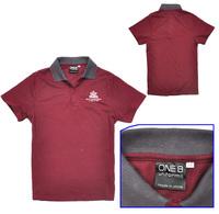 New 2014 summer children Sport shirt boy's t-shirt cotton turn-down collar shirts | kids letter print tee for 3-12 years old boy