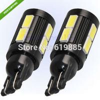 2 x 200LM T10 10 SMD 5730 LED Xenon White Turn Tail Light Lamp Bulb-194 168 501 W5W 147 152 158 159 161 184 192 193 1250 1251