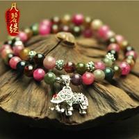 Multi-layer tourmaline bracelet women's natural bracelet accessories crystal bracelet fashion vintage