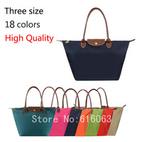 High Quality Nylon Women Leather Handbags Fashion Designer Brand Handbag Purses Folding Dumpling Tote shoulder Bags wholesale