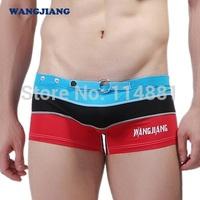 Free Shipping!! 2014 New Men's Swimwear/Men's Swimming Trunks/Men's Beachwear/Swim Wholesale WJ  PJ4008