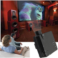 1 Pcs USB HDMI Home Cinema Theater Multimedia LED LCD Projector HD 1080P PC AV TV VGA Free Shipping Wholesale