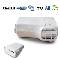 EU E03 LCD Mini Portable Proyector 1080P HD LED Projector Home Cinema Video theater With USB TF Card AV VGA HDMI TV Port
