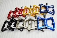 VEETOKA JT101 CNC Aluminum/Alloy mtb&road bicycle pedals 100*85*190mm black/red/gold/grey/blue 290g/pair Free Shipping