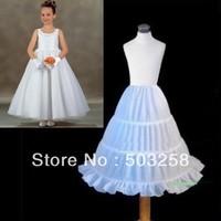 P13 best quality ruffle flower girl petticoat
