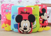 New!!! For samsung galaxy note 2 case mickey sulley mike rubber mobile phone back cases cover for samsung galaxy note 2 n7100