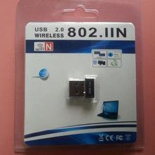 WALZY Computer New Mini USB 20 IEEE80211N 150Mbps Wireless LAN Network Adapter Card (China (Mainland))