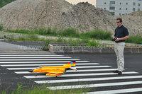 RTF The orange Version  /  RC F-4  jet plane /  70mm EDF  RTF  JET plane /  Ready To Fly
