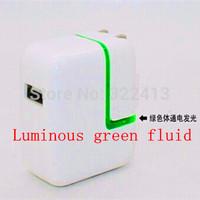 LED USB Charger-100-240V output:. 5V  2.1A (U.S. regulations - EU - British regulations - AUS) USB Travel Charger