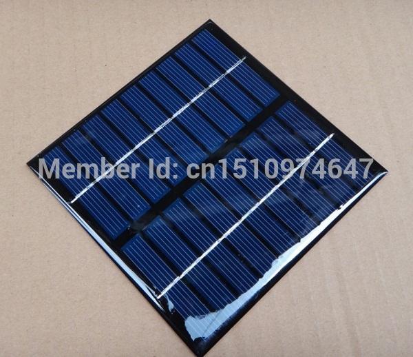 Wholesale 2Watt 9V Mini Solar Cell Solar Module Polycrystalline Solar Panel Diy Charger 115 *115*2MM 10pcs/lot Free Shipping(China (Mainland))