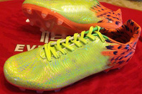 Slime Zest Soccer Shoes Men Outdoor Athletic Boots 2014 World Cup Firm Ground Sole Cheap on sale US6.5-12 Size