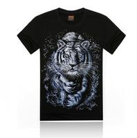 2014 new arrival novel animal tiger T-shirt