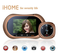 New Arrival 3.7 inch GSM Smart Monitor Digital Peephole Viewer Doorbell Intercom with motion and light sensor video GSM message