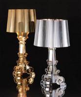 Free shipping Modern Design Silver /Gold Kart Bourgie Beside Table Lamp Desk Lighting Light