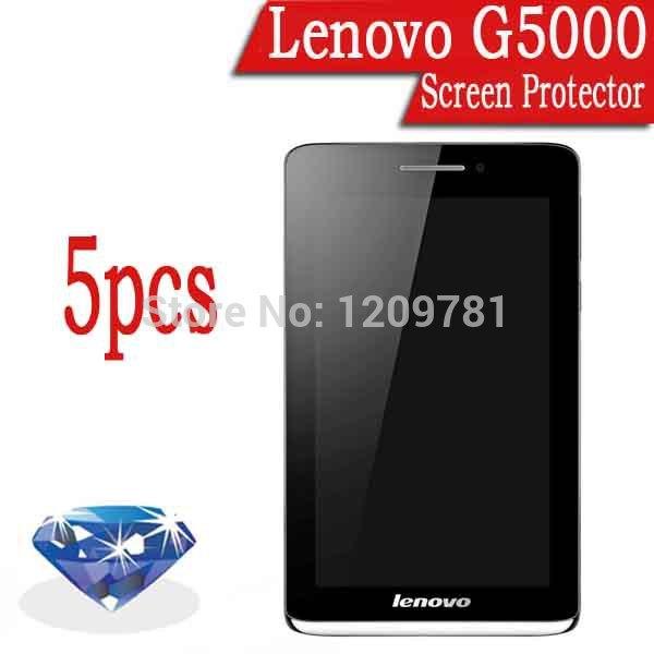 "Hot Sale!High Quality 5pcs Diamond Sparkling Lenovo s5000 7.0""IPS Screen Protector.LCD Protective Film(China (Mainland))"