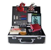 Free Shipping-Pro tattoo starter kit high quality tattoo machine complete equipment SET
