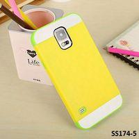 10pcs, S5 Hybrid Case, NX Plastic Silicone Combo Case for Samsung Galaxy S5 SV i9600, FREE SHIP