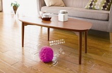 Free Shipping 3Pieces Mini Robot Cleaner / Microfiber Mop Ball MOCORO --Get 3 Rags Free(China (Mainland))