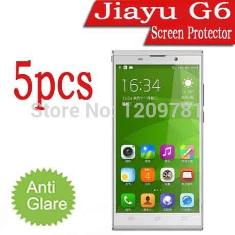 """New Arrival 5pcs Android Phone Jiayu G6 Screen Protector,Matte Anti-Glare LCD Protective Film Cover Guard Case For Jiayu G6 5.7""""(China (Mainland))"""