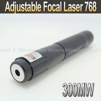 Laser 768 300mW Blue Laser Pointer Adjustable Focal Laser Pen