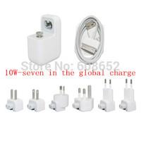 10W-7 In 1-USB-100-240V output:. 5V  2.4 A (U.S. regulations-EU - British regulations-AUS-Korean regulations) USB Travel Charger