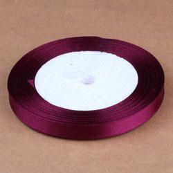 22M,0.4'' DIY Satin Ribbon Belt Gift Packing Wedding Decoration Dry Crafts Single Face Satin The best cloth(China (Mainland))