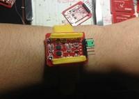Freeshipping Heart rate measurement module wrist belt type 3.3V-5V