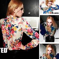 Casual Long Sleeve Chiffon Blouse Shirts For Women F4278