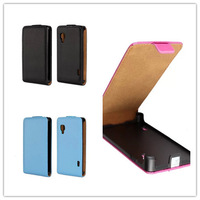 Multi Colors Genuine Leather Flip Magnetic Case Cover Pouch For LG Optimus L5 II E450 E460