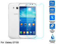 Tempered glass screen protector For Galaxy Grand 2 G7100 g7106 HD clear film ultra thin guard Anti-Bubble Crystal Shield