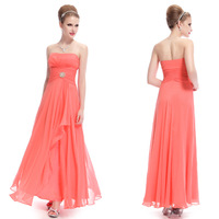 HE08063CO Elegant Strapless Long Party Prom Summer Fashion Dress 2014