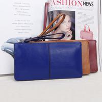Women's handbag cowhide day clutch navy blue yellow fruit green fashion  small bags