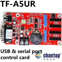 TF-A5UR USB and RS232 port LED Controller Card Single, Dual, Full Color LED modules led display control card moving led sign