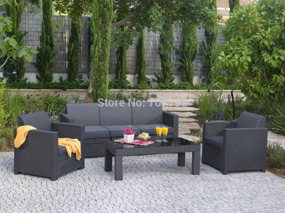 2015 New Products Ergonomic Design Outdoor Furniture Patio Triple Living Room Sofa(China (Mainland))