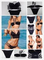 Europe and America selling swimwear triangle split split swimsuit swimsuit free shipping DST-512