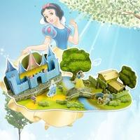 Fashion Tower Bridge design boy girls 3D puzzle children kid Mosaic toys DIY toy Girls room puzzles Cartoon NO.598F