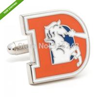 High Quality Replica Denver Broncos Vintage Football Cufflinks Cuff Links WITH Exquisite Box