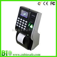 High Tech Built-in Thermal Printer, TCP/IP + USB Fingerprint Time Attendance  HF-P10