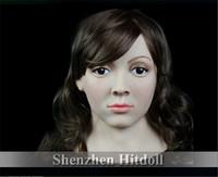 [SF-8] female silicone masks bulk masquerade masks full face mask halloween party mask free shipping
